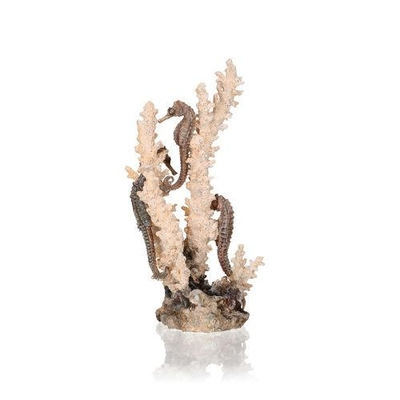 biOrb Seahorses on Coral Sculpture med/large natural 55039 | biOrb Accessories