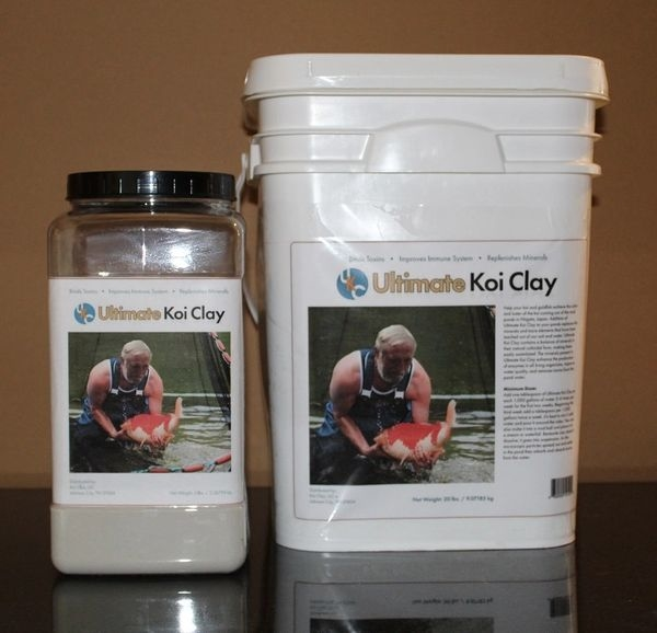 Ultimate Koi Clay | Pond and Fish Care