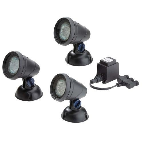 OASE 56453 LunAqua Classic LED Set of 3 | Oase Lights Fountains and Accessories