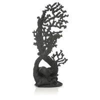 Image Extra Large, Black biOrb Fan Coral Sculpture